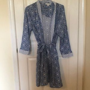 Midnight by Carole Hochman Other - Blue Bath Robe